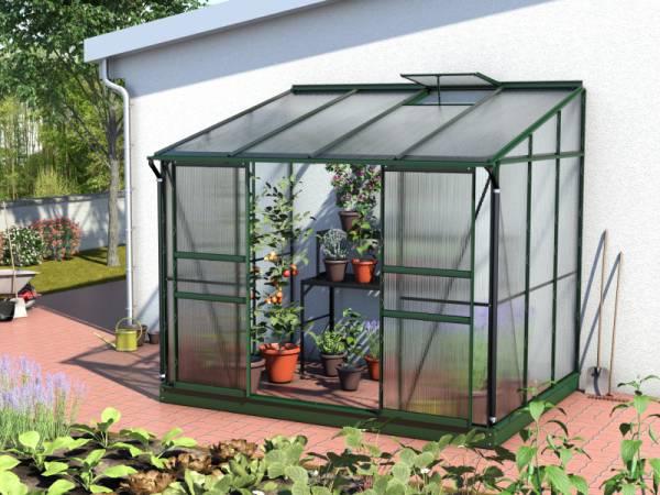 Vitavia Gewächshaus Ida 5200 HKP 4 mm dunkelgrün