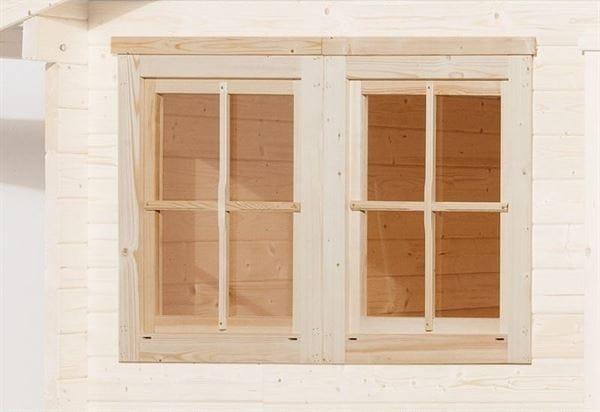 Weka Doppelfenster 21/28 mm 138 x 79 cm