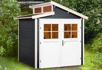 Weka Gartenhaus 226 Größe 1 anthrazit