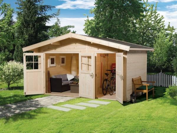 Weka Gartenhaus 261 Größe 1 28 mm