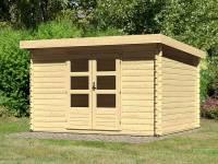 Karibu Woodfeeling Gartenhaus Bastrup 7