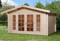 Weka Gartenhaus 137 Gr. 1 Vordach 60 cm