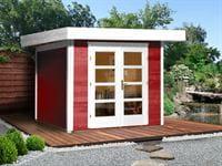 Weka Gartenhaus 126 Plus Gr. 3 in schwedenrot
