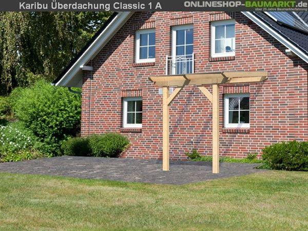 Karibu Terrassenüberdachung Classic Modell 1 Gr. A