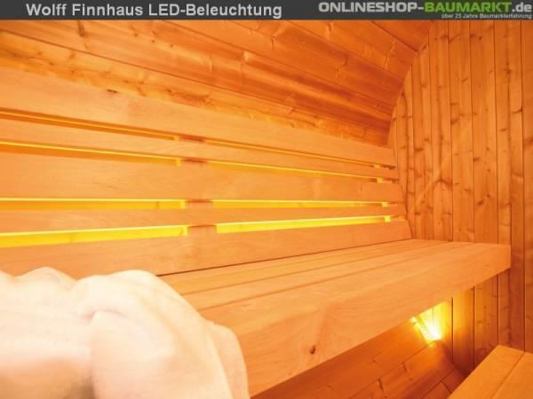 Wolff Finnhaus LED-Beleuchtung für Saunafass basic + de Luxe
