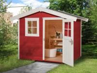 Weka Gartenhaus 123 Gr. 2 schwedenrot