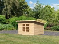 Karibu Woodfeeling Gartenhaus Northeim 3 naturbelassen 38 mm