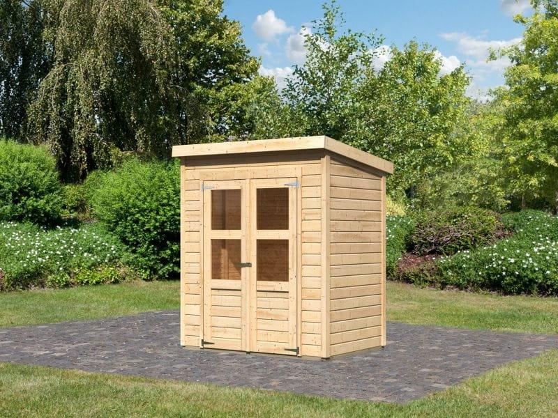 Baumarkt Merseburg karibu gartenhaus merseburg 2 aus nordischer fichte osb