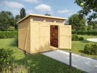 Weka Gartenhaus 264 Gr. 4 21 mm natur