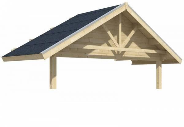 Skan Holz Vordachverlängerung 212 cm für Toronto