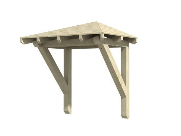 Skan Holz Vordach Wesel 1