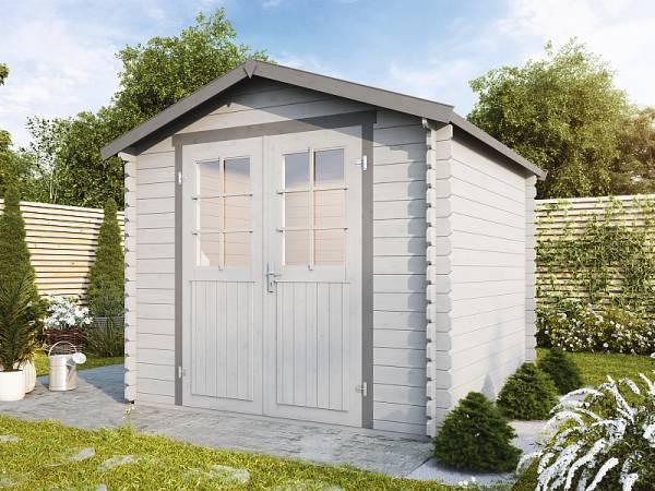 Wolff Finnhaus Aktionshaus Lyon B 28 mm natur inklusive Fußboden