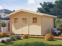 Weka Gartenhaus 110 Gr. 1 Vordach 60 cm