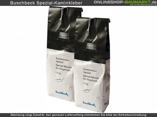 Buschbeck Kaminkleber grau 1,5 kg