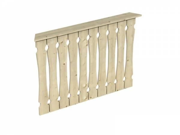 Skan Holz Brüstung für Pavillons 120 cm Balkonschalung