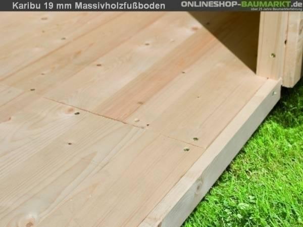 Fußboden Sockelmaß 209 x 213 cm