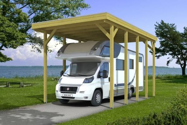 Skan Holz Carport Friesland Caravan 397 x 708 x 371 cm