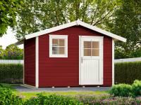 Weka Gartenhaus 123 Gr. 4 schwedenrot