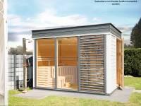Wolff Finnhaus Sauna Paradiso 3x2 2-Raum