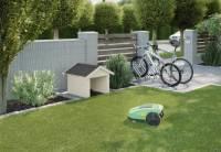 Weka Rasenroboter-Garage natur