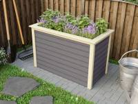 Karibu Hochbeet 1 terragrau 19 mm