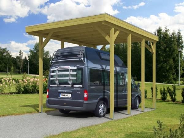 Skan Holz Carport Friesland Caravan 397 x 555 x 371 cm