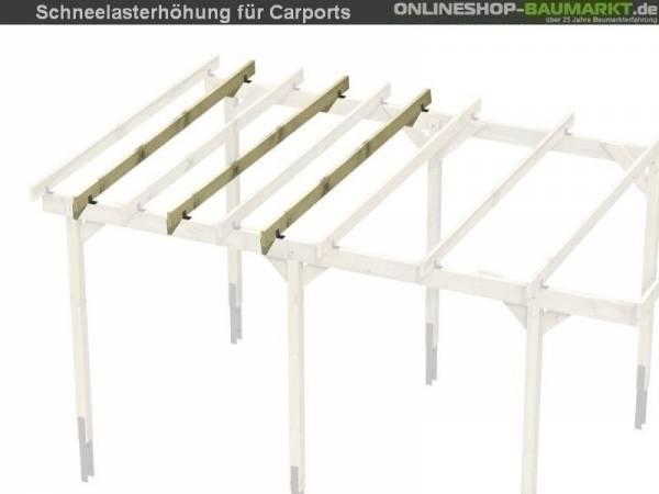 Skan Holz Schneelasterhöhung auf 2,00 kN / qm für Carports