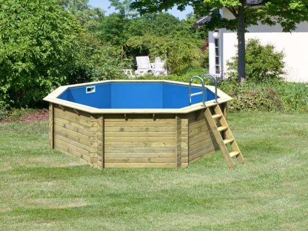 Karibu Pool Modell 2 Variante A im Sparset Komfort