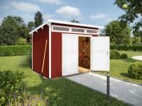 Weka Gartenhaus 264 Gr. 3 21 mm schwedenrot