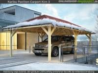 Karibu Pavillon-Carport Kirn 2 kdi