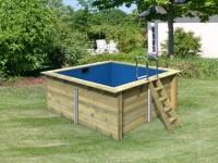 Karibu Rechteck Pool Größe 1
