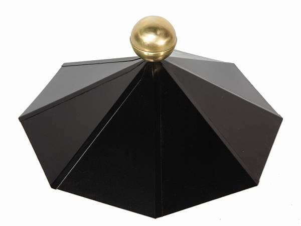Wolff Finnhaus Dachhaube 8-eckig Messing
