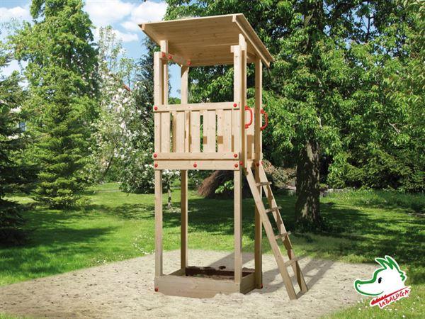 Weka Kinderspielturm 816 D mit Flachdach