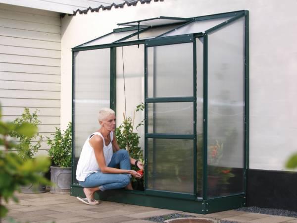 Vitavia Gewächshaus Ida 1300 HKP 4 mm dunkelgrün