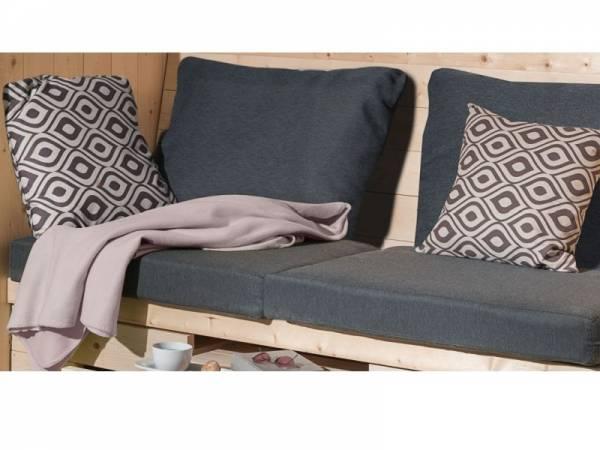 Weka Sitzkissen/ Rückenauflage für Merano und Bozen