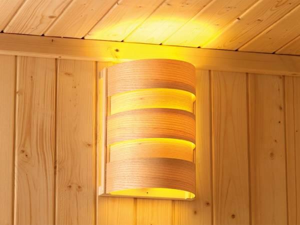 Karibu Saunaleuchte Classic