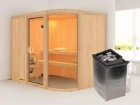 Parima 4 - Karibu Sauna inkl. 9-kW-Ofen