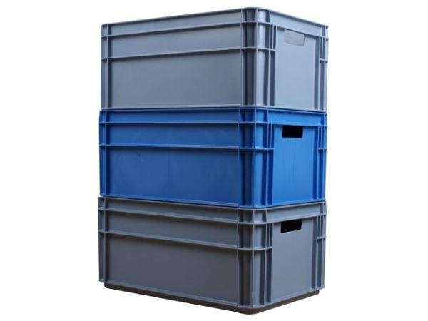 Transport- und Lagerbox 60 Liter PP-Kunststoffrecycling