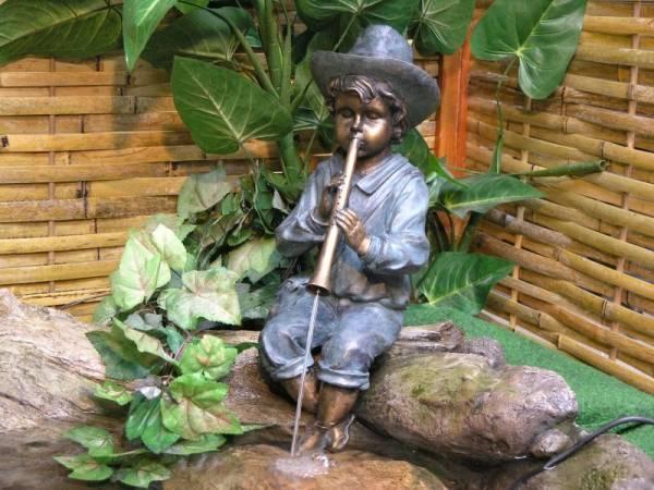 Granimex Flötenspieler